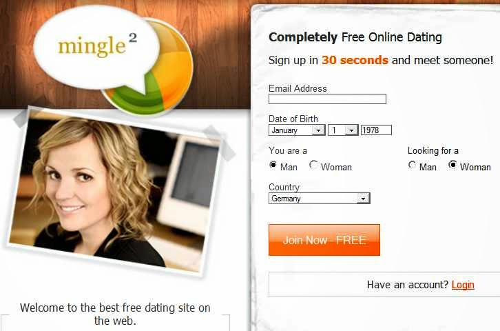 Free dating site in europe without credit card