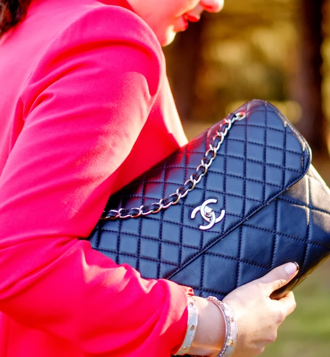 Chanel In The Business Flap handbag