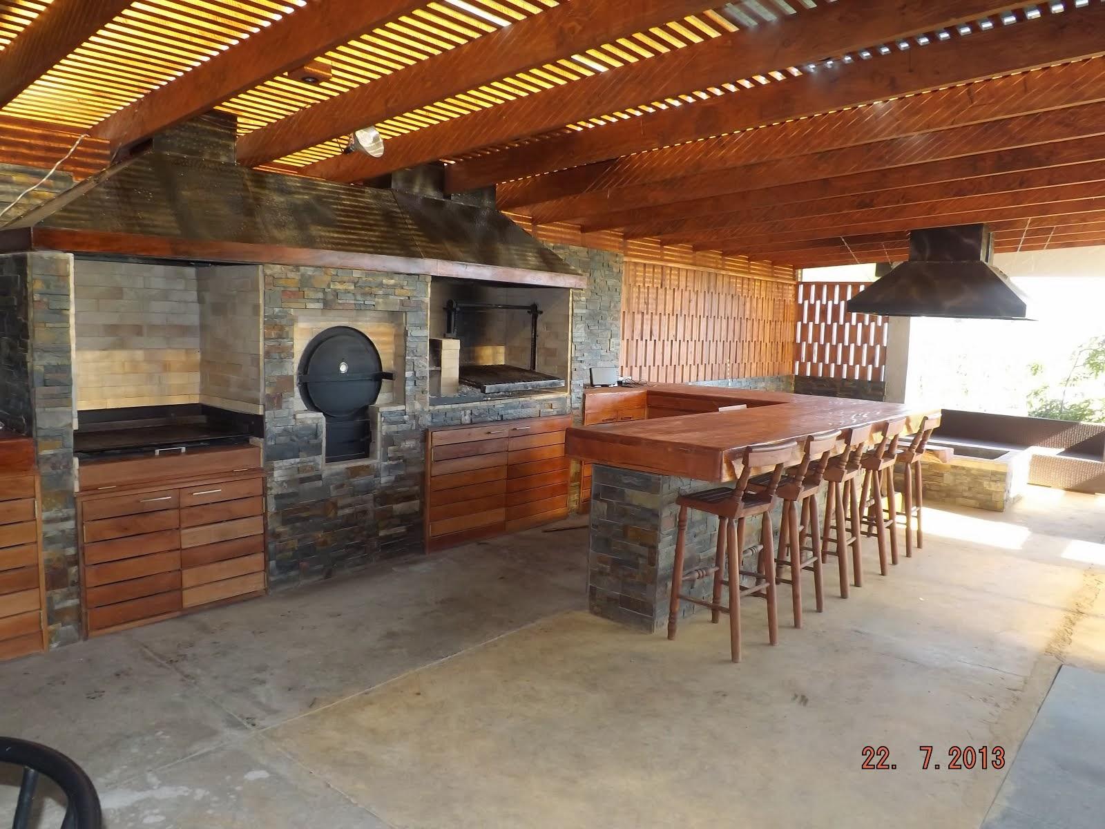 Pergolas y quinchos for Ideas de terrazas rusticas