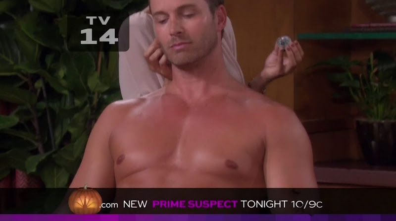 Eric Martsolf Shirtless in Days of Our Lives 20111027