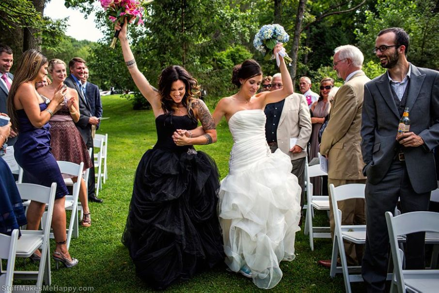 Same-sex Wedding Photography - Gay Marriage Photos from United States