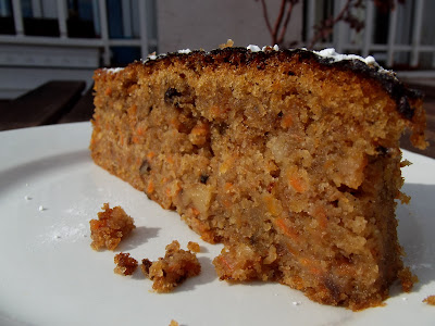 Pastel o bizcocho de zanahoria (Carrot Cake)