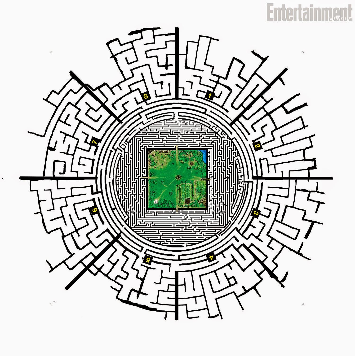 карта для майнкрафт бегущий в лаберинте #11