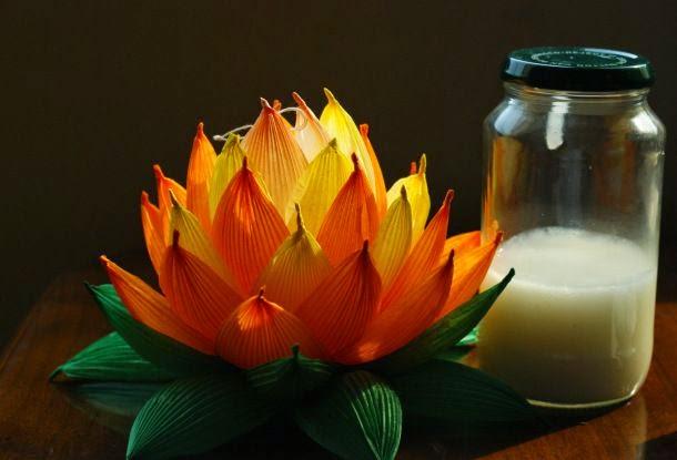 Diwali Lotus Lantern