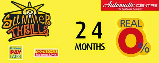 Automatic Centre Enjoy Real 0% installment up to 24 months, Buy Now, Pay Later