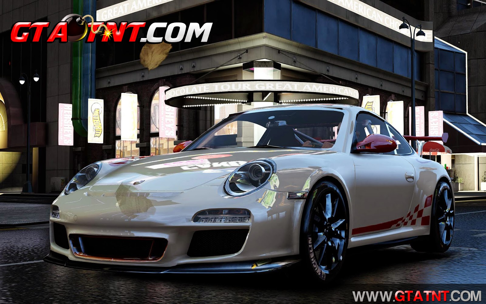 Porsche 997 GT3 RS 2010 para GTA 4