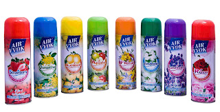 many scented air fresheners
