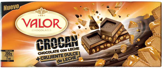 chocolate crocan dulce leche valor