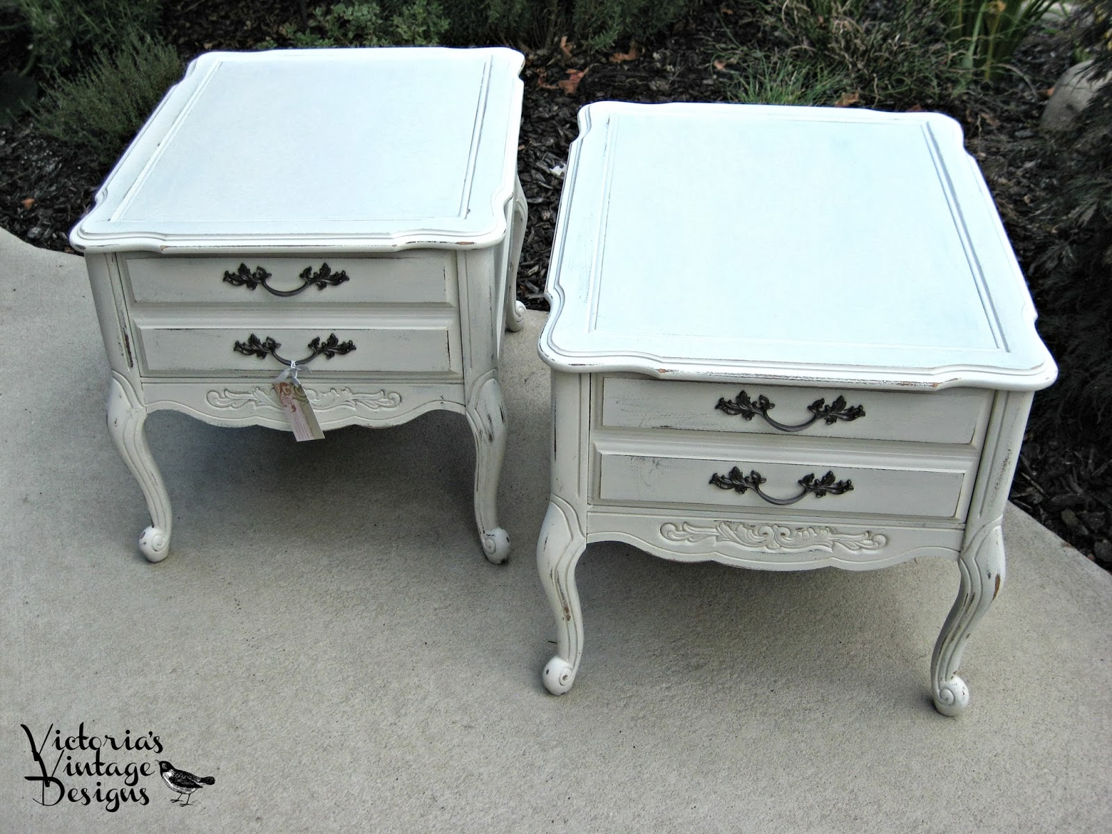 Victoria's Vintage Designs: Shabby~Cottage Chic French Provincial  title=