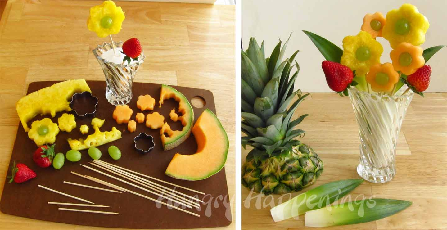 Outstanding Sweet Flowers Fruit Bouquets Ornament - Wedding and ...
