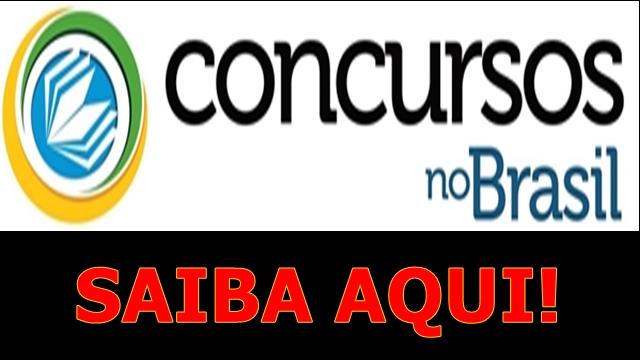 SAIBA DE TODOS OS CONCURSOS NO BRASIL!