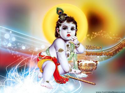 Happy Janmashtami 2013 - Shri Krishna - Makhanchor