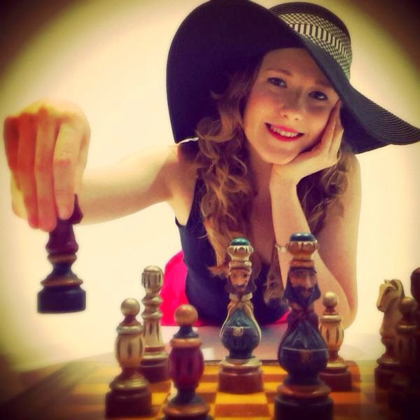 Anna Rudolf, maître international d'échecs !