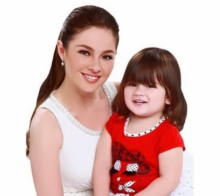 Andi Eigenmann and baby Ellie