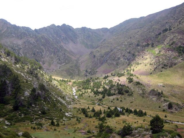 Vall glacial de l'Arinsal
