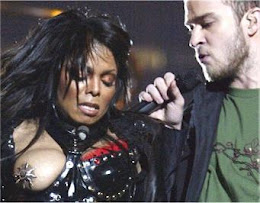 Janet Jacksons Brust in der Super Bowl ausgesetzt