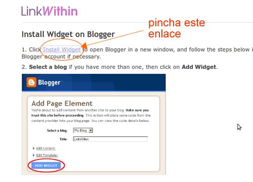 poner artículos relacionados en blogger