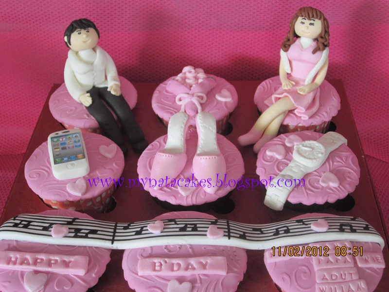 Couple Birthday Cake Pictures : Mynata Cakes: couple cupcakes