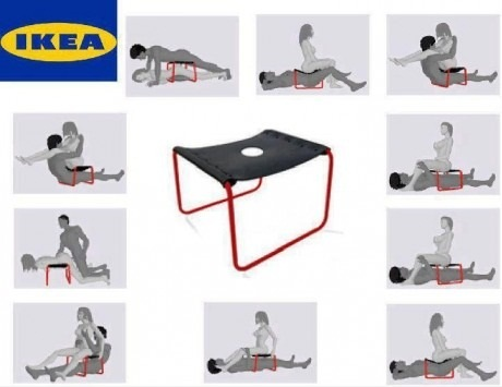 This is the sex chair made by IKEA