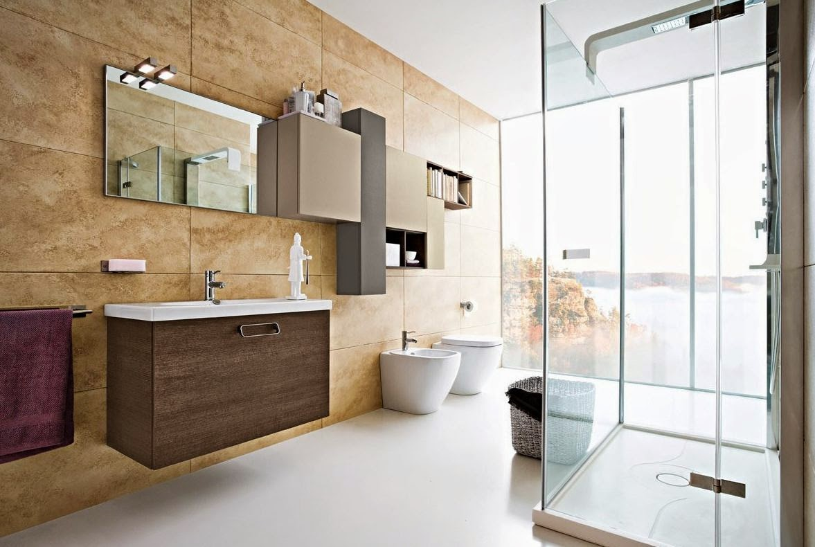 Muebles y decoraci n de interiores modelos de ba os muy for Modelos de decoracion de banos