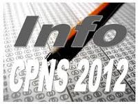 Pengumuman Hasil Test Tulis CPNS Kementrian 2012