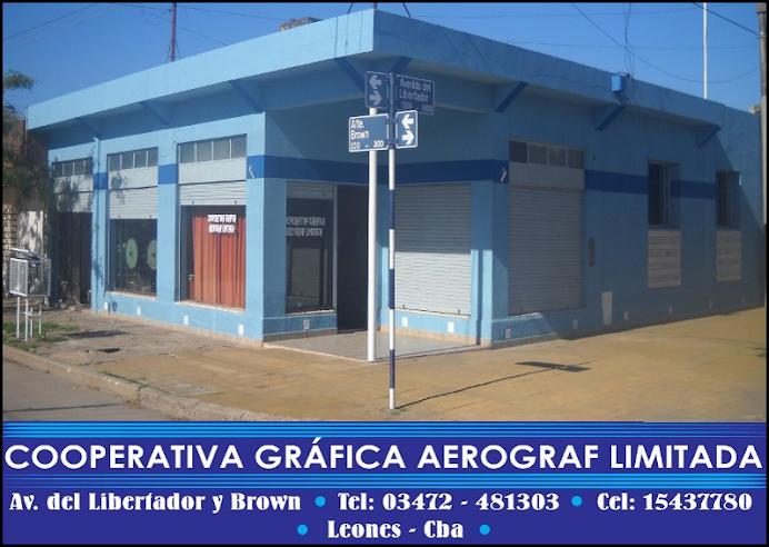 ESPACIO PUBLICITARIO: COOPERATIVA GRÁFICA AEROGRAF LTDA