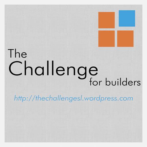 The challenge for builders ( EACH month NEW discounted item at BSD }}