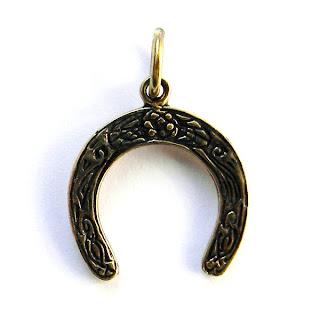ювелирное украшение подкова серебро бронза украина подарок