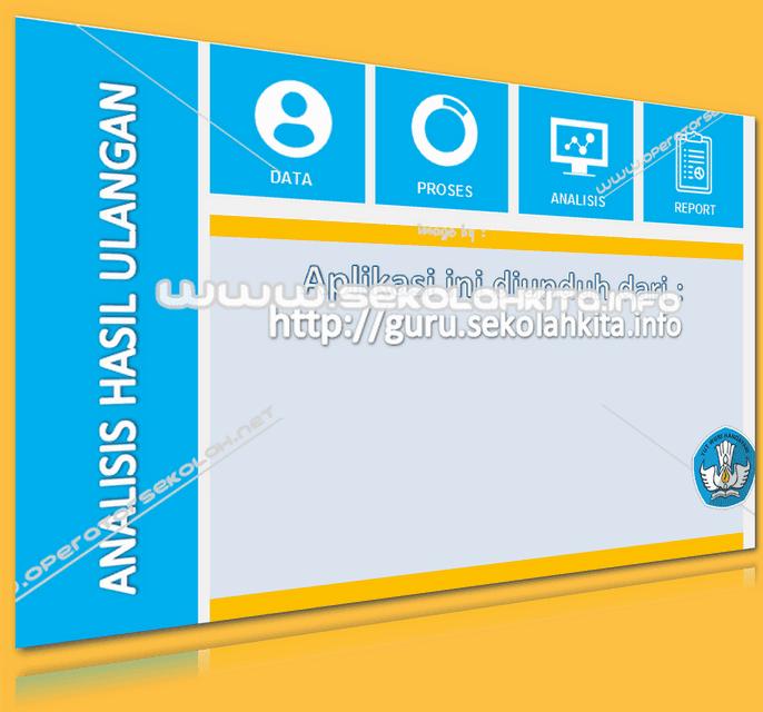 Aplikasi Analisa Hasil Ulangan Per Butir Soal Menggunakan Excel Versi Pro Gratis