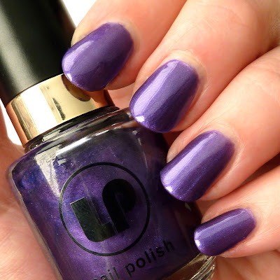 Nail polish swatch of Laura Paige Pouty Purple