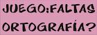 Xogo ortografia