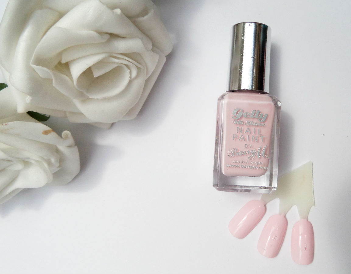 Barry M Gelly Hi-Shine Nail Paint in Rose Hip