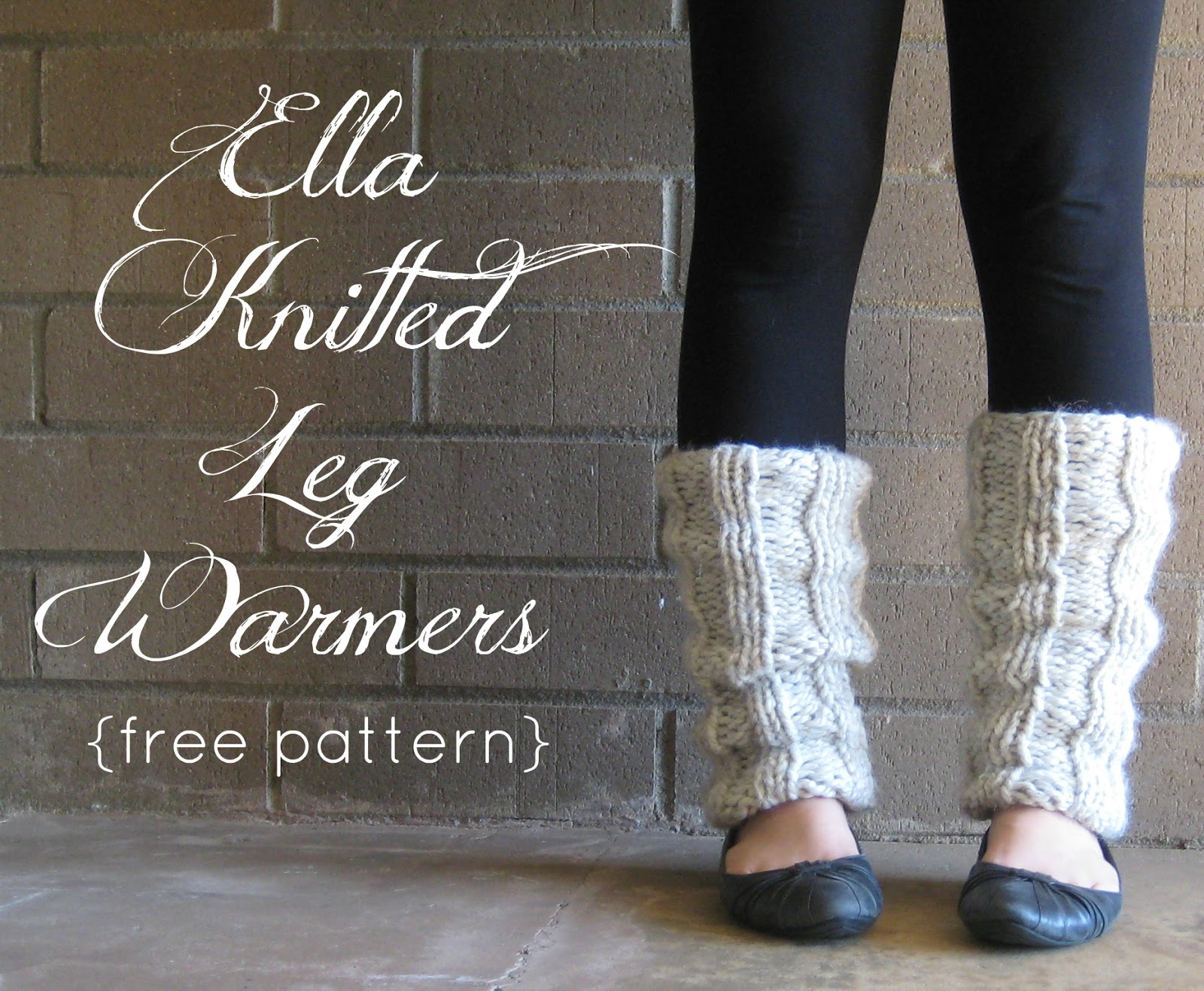 the willow nest: free pattern: Ella Knitted Leg Warmers