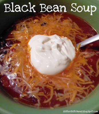 Black Bean Soup | Tale of Two Sisters and Their Kitchens