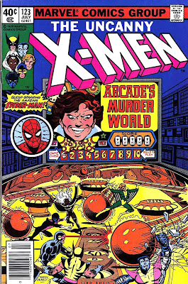 X-men v1 #123 marvel comic book cover art by John Byrne