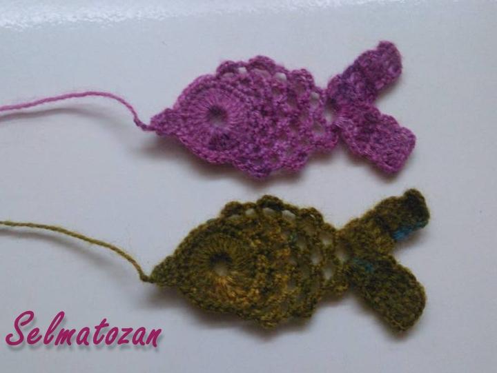 Tığ İşi Balık Motifi Açıklaması
