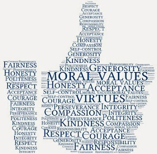 Importance of moral values in our society