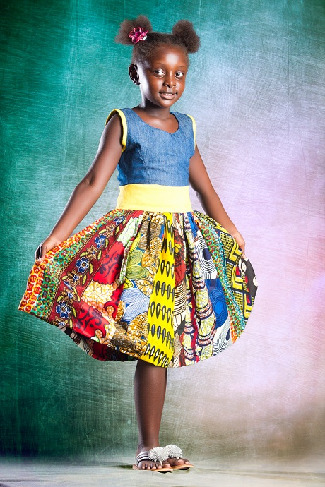 Denim Kitenge Childrens Collection by Eve Collections