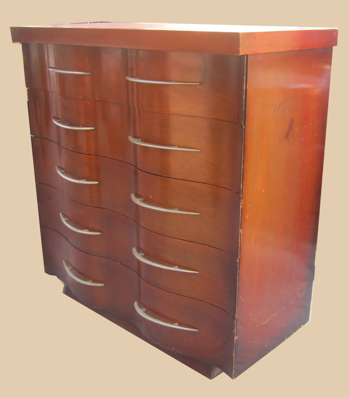 Uhuru Furniture & Collectibles Mahogany Bedroom Furniture