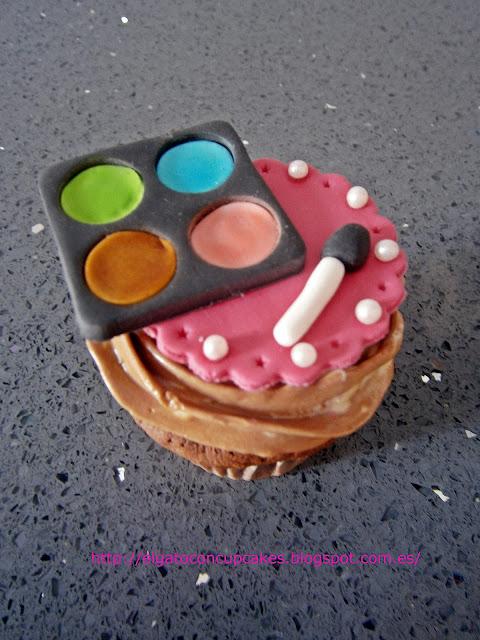 cupcake sombras