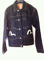 Rare evisu denim jacket