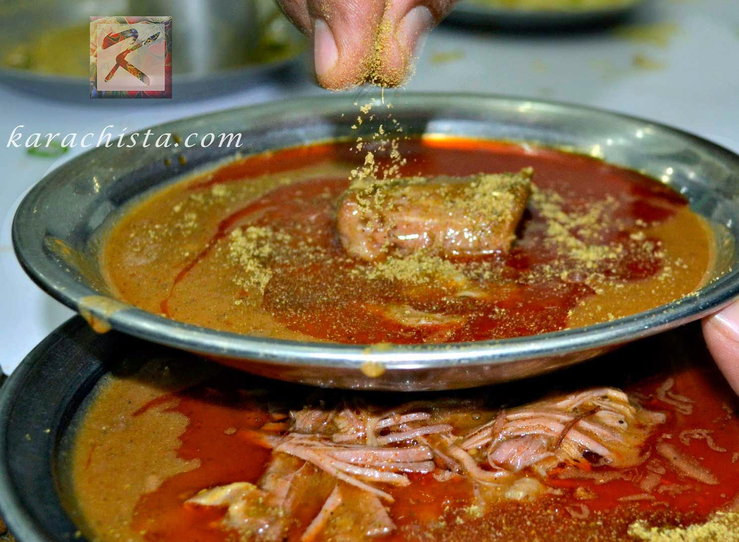 Nihari at Zahid Nihari in Karachi