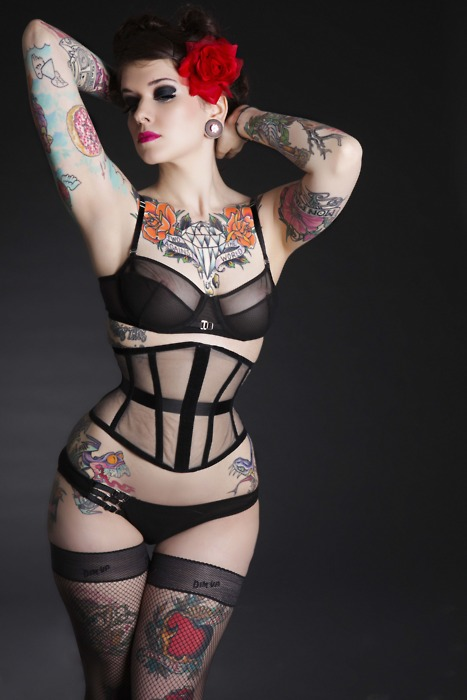 Pin up what is that modern pin up models what has changed - Tattooed pin up models ...