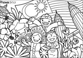 coloring pages 1 malaysia diposting oleh koloring pages di 1305