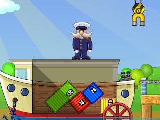 shipping container flash game