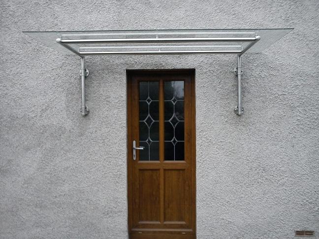 Modern Glass Over Door Canopy & Modern Glass Over Door Canopy | Glass Door Canopies