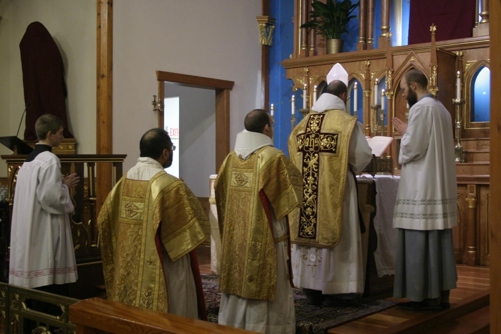 New Liturgical Movement First Ef Solemn Masses At
