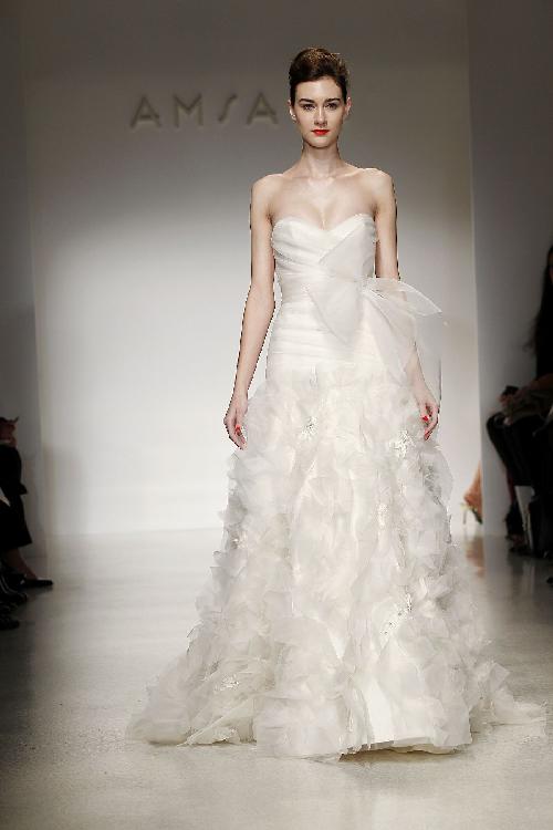 Amsale 2012 Frühling/Sommer Brautkleid Moden