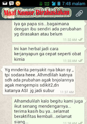 Screen Shot Testimoni Pasien