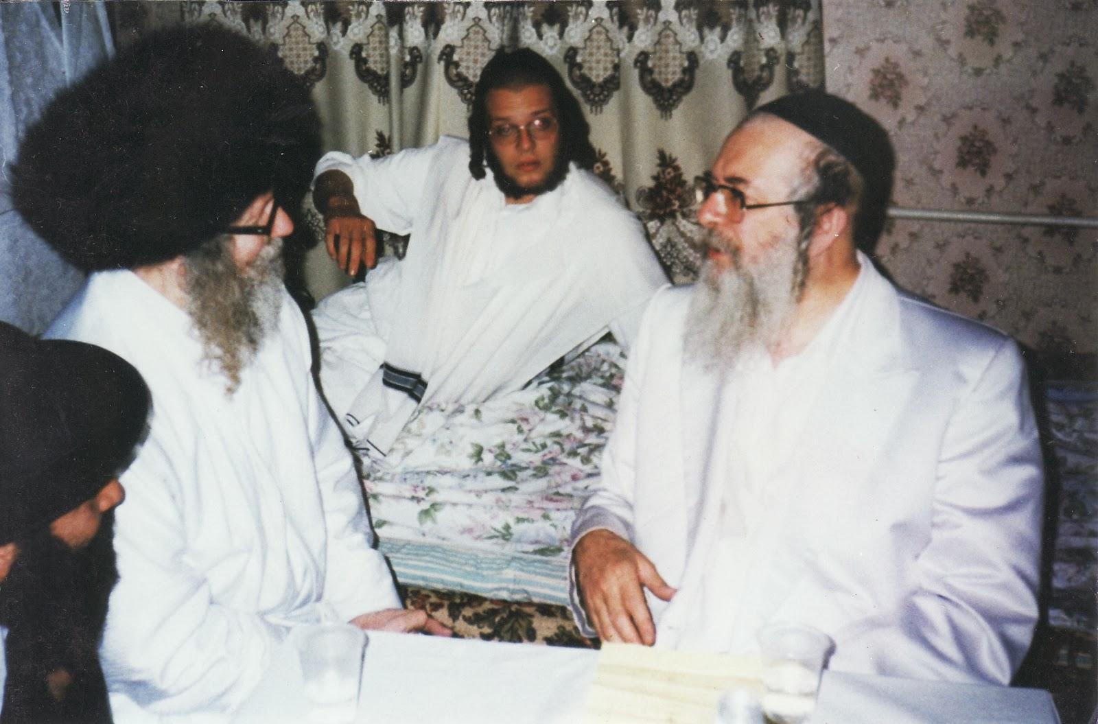 הרב אליעזר ברלנד והרב שיק באומן